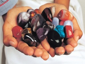 colourful gemstone at Simonstown