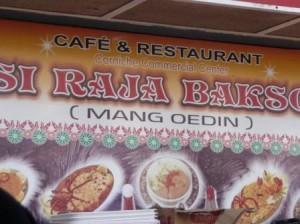 """Warung Mang Oedin """"Si Raja Bakso"""" @ Corniche"""