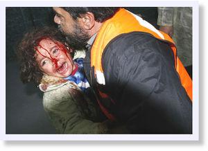 © Getty -- Izraelska armia pokazała światu, że jest gotowa wykonać rozkazy swoich psychopatycznych przywódców w każdym miejscu: czy to w Gazie, Libanie, czy też Iranie...
