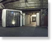 25 tonowe drzwi prowadzące do kompleksu Cheyenne