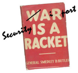 Airport security is a racket
