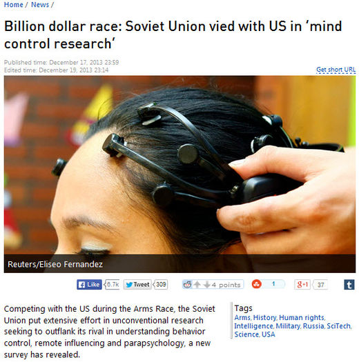 Russia Today billion dollar race