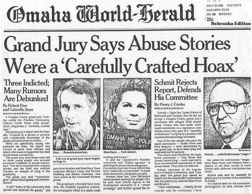 franclin scandal headline