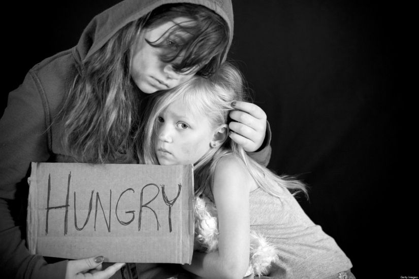 Image result for hungry children america