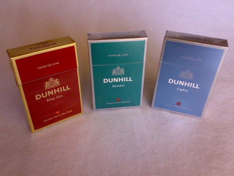 Image result for dunhill cigarettes