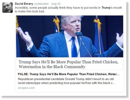 Creating a liberal bubble: Snopes to fact-check on ...