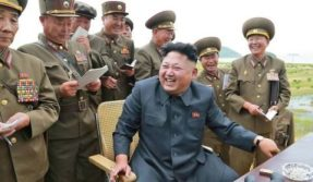 Image result for Kim Jong un laughing