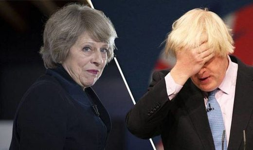 theresa may boris johnson