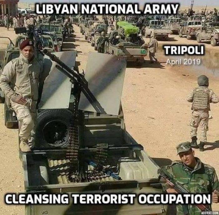 Líbyjská národná armáda LNA Tripolis