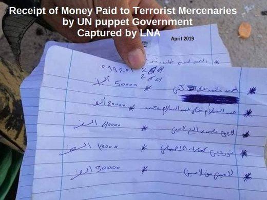 líbya hotovosti teroristov