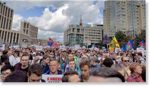 Moscow protests 2
