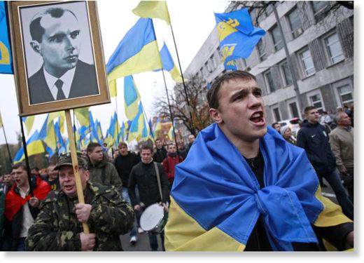 スボボダウクライナ民族主義者