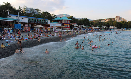 Revelers Black Sea Alushta