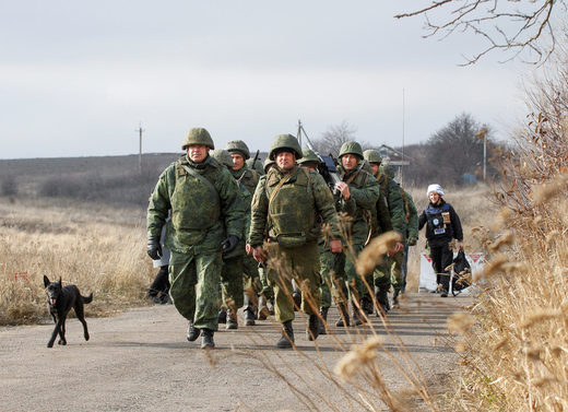 DPR soldiers Donbass