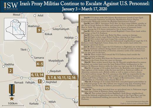 iran proxy attacks