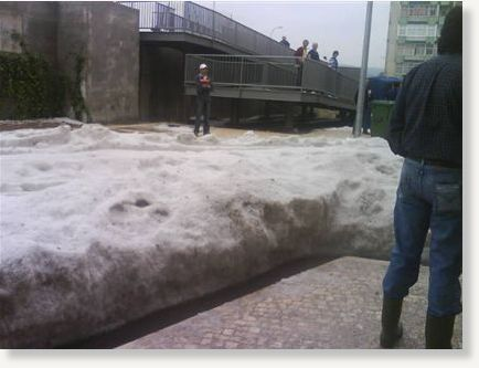 Freak Hail Storm Brings Chaos and Flooding to Lisbon ...