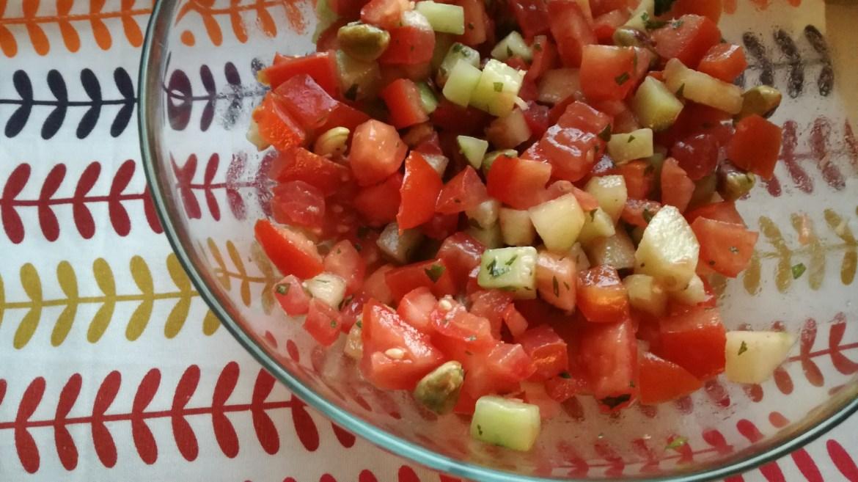 Sottosopra - macedonia di verdure senza anguria