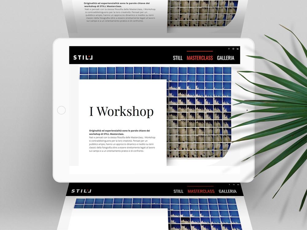 Sito Still Fotografia | Sezione Workshop
