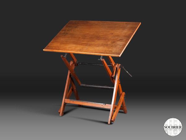 Table Dessin 1950 Soubrier Louer Tablesbureaux Table XXe