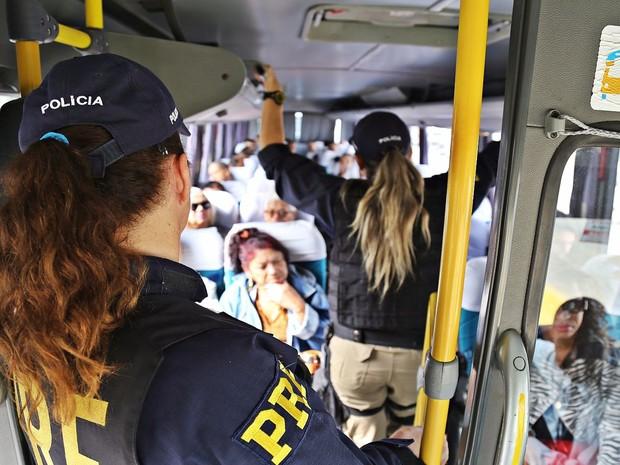 Trabalho tentará impedir que candidatos tirem vantagem com o transporte irregular de eleitores (Foto: Ascom/PRF)