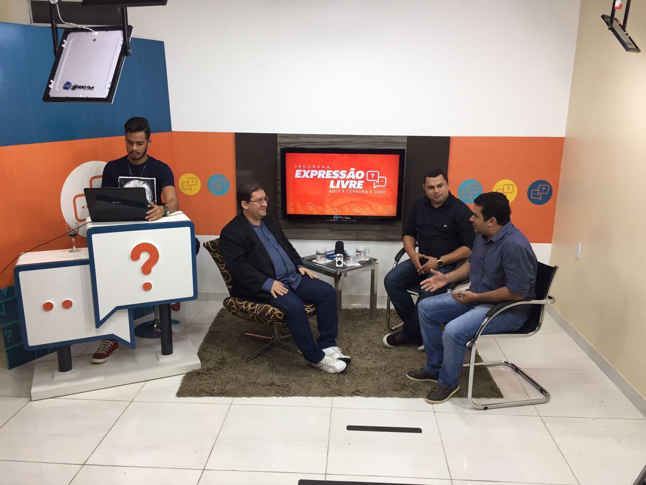 Programa Expressão Livre, com Entrevista de Teixeira Caminhões da Rio FM