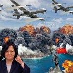 【US MILITARY DEFENSE】:中共と南シナ海で戦争か?・・・米国が100機のドローンMQ-9を台湾に配備。