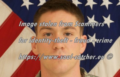 Staff Sgt. Michael H. Ollis RIP image abused by Scammers