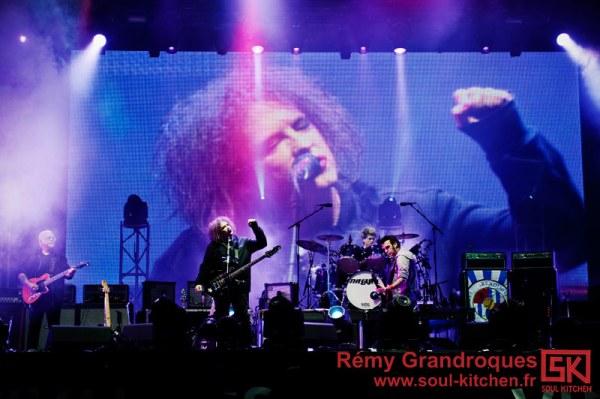 Photos concert : The Cure @ Vieilles Charrues, 20 juillet 2012
