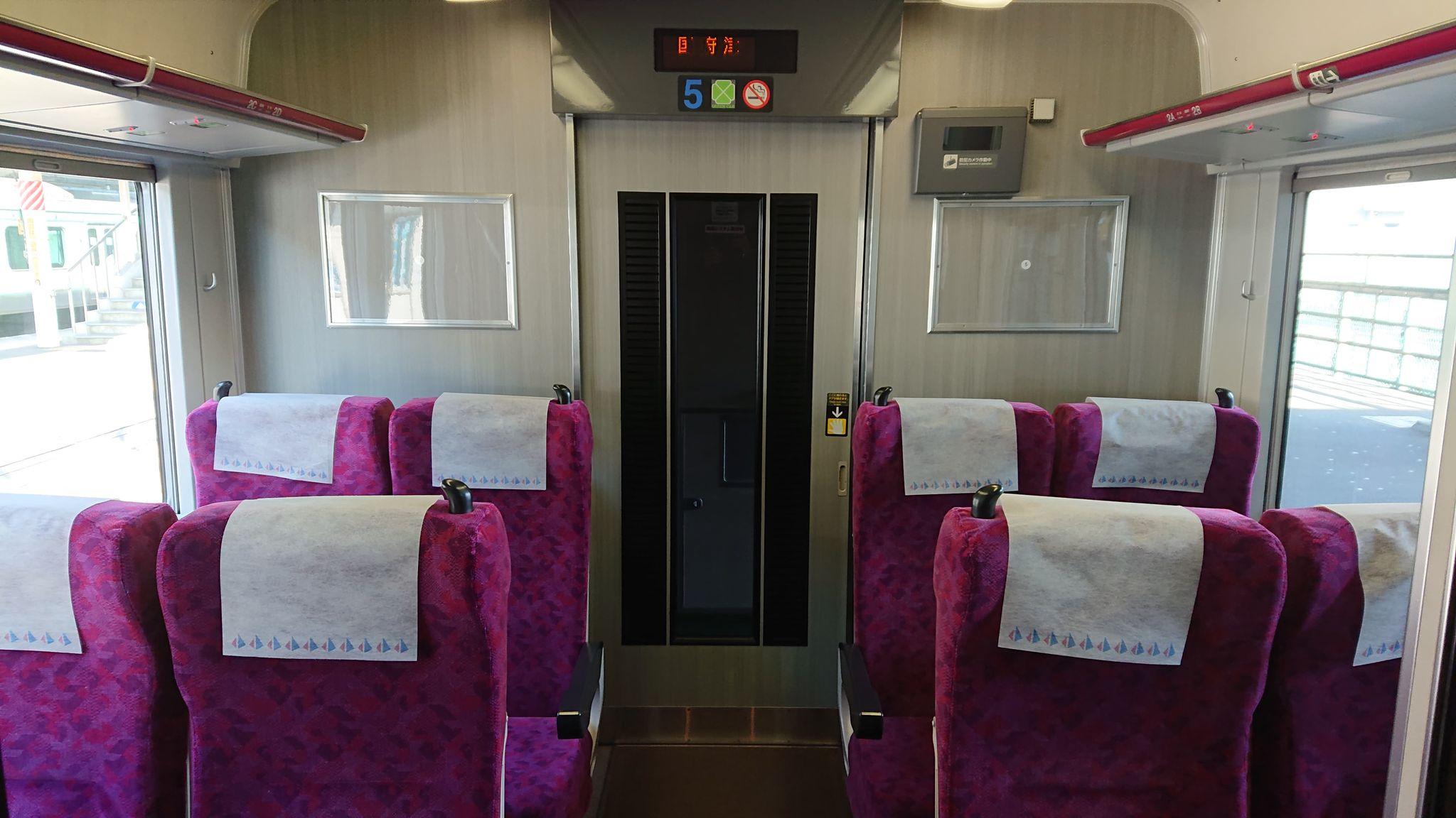 JR東日本東海道線や湘南新宿ライン、上野東京ラインの普通列車グリーン席の車内の雰囲気