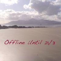 Photo of Tyrella Beach with 'Offline Until 21/2' written across it