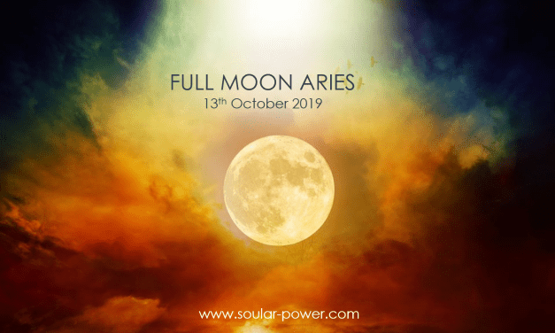 FULL MOON OCTOBER 13TH IN ARIES – Be the Change
