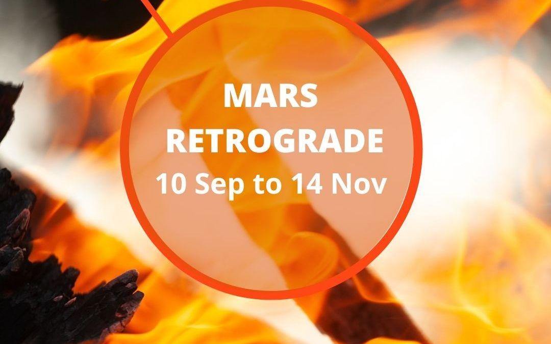 Astrology Update – Mars Retrograde – Back Burning