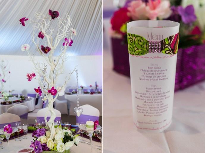 decoration mariage wax