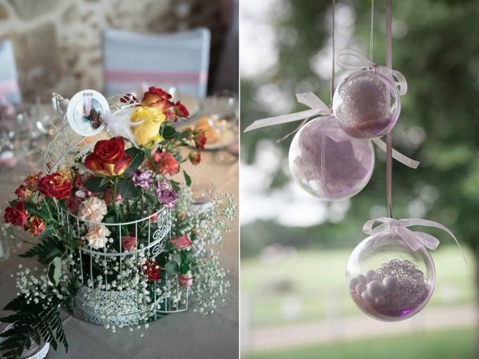 decoration bouquet fleur mariage ferme du couvent
