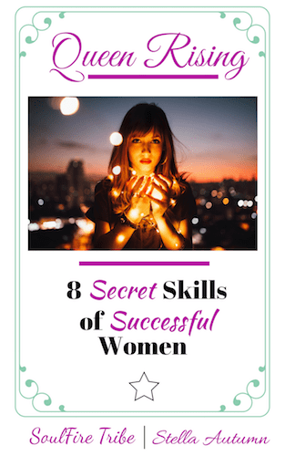 My FREE Guide Queen Rising gives you 8 secret skills successful women use to live happy, balanced, lives and define success on their own terms!