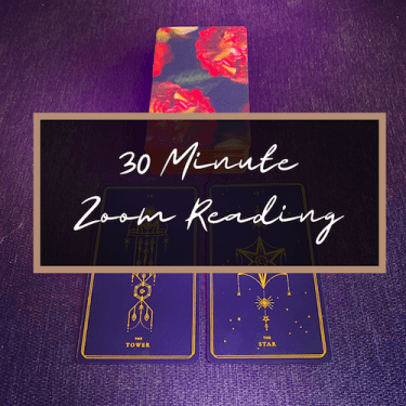 Book a 30 Minute Zoom Reading!