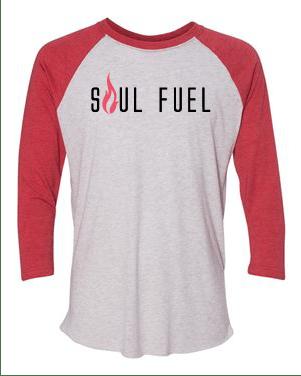 Soul Fuel Baseball Raglan Red