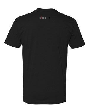 Soul Fuel - Fists of Fury Tshirt Black Back