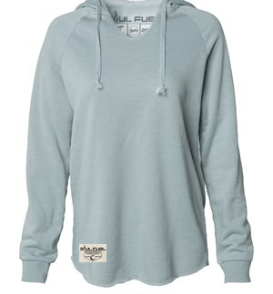 Wave Washed Hooded Sweatshirt