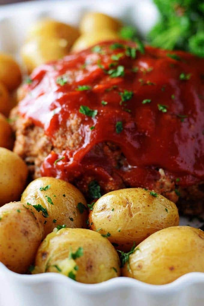 Instant Pot Meatloaf and Potatoes