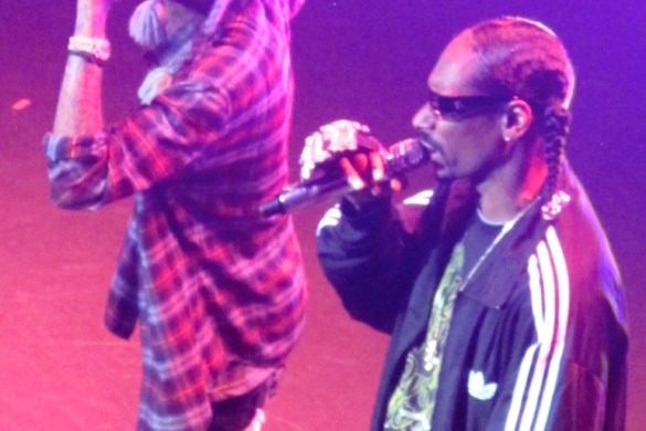 Snoop Dogg and Wiz Khalifa in Concert at Terminal 5 in New York December 5, 2011