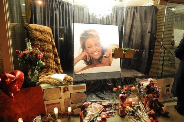 Whitney Houston Funeral Photos 11