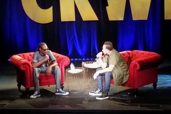 Snoop Dogg and Elliott Wilson Conversation at CRWN