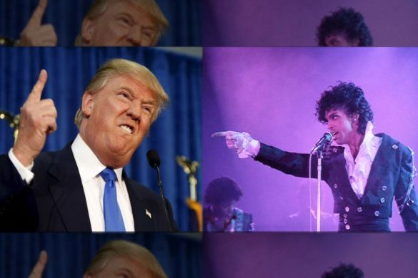Prince Wrote a Song About Donald Trump