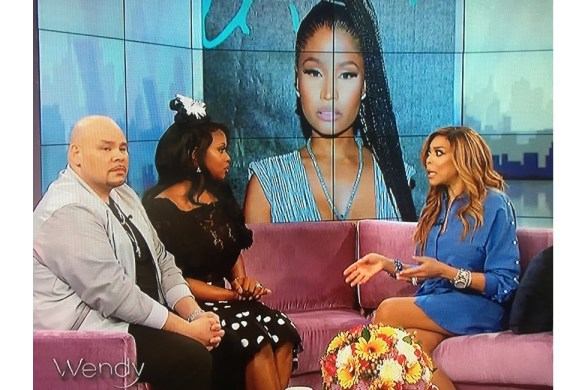 "Fat Joe and Remy Ma Discussing Nicki Minaj Diss Record ""Shether"""
