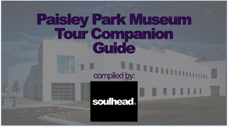 Paisley Park Museum Tour Guide Companion Guide Header