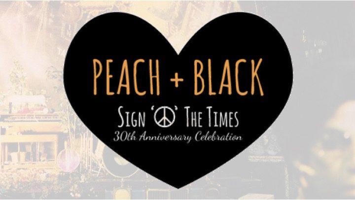Peach + Black: A Celebration of Prince's Sign O' The Times Album and Film