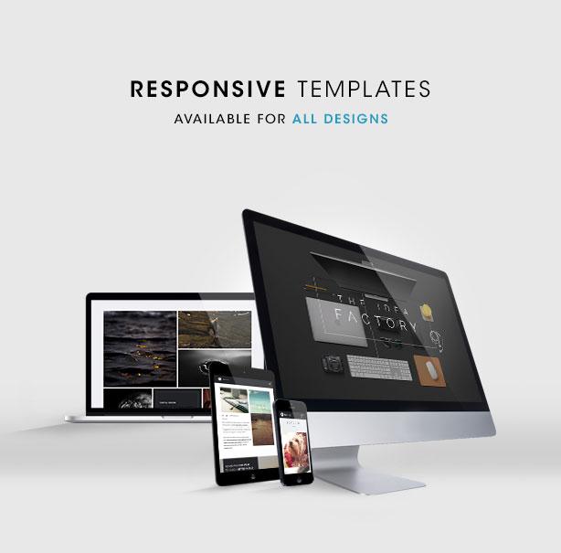 Tersus - Business Portfolio Parallax Muse Template - 3