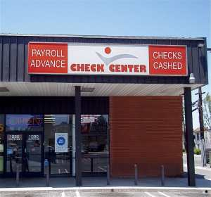 Check Center storefront