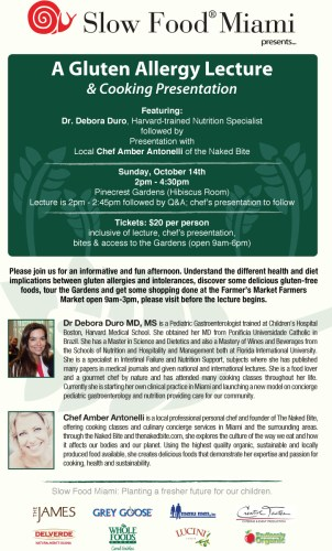 Oct14-Gluten-Allergy-Lecture-and-Cooking-Demo-to-Benefit-Slow-Food-Miami